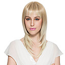 cheap Synthetic Capless Wigs-bleach blonde wig synthetic fiber wig long straight women s wig hairstyle