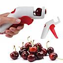 رخيصةأون قطع الطاولة-ادوات المطبخ بلاستيك المطبخ الإبداعية أداة مزيل البذور للفاكهة