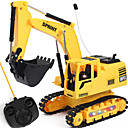 cheap RC Cars-RC Car 3813 2.4G Excavator 1:24 Brushless Electric KM/H Remote Control / RC / Rechargeable / Electric