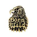 billige Herre Armbånd-Logo Band Ring - Ørn, Dyr Unikt design, Tatovering, Vintage 9 / 10 / 11 Bronze Til Fest / Speciel Lejlighed / Halloween