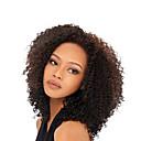 abordables Pelucas de Cabello Natural-Cabello humano Integral sin Pegamento Encaje Completo Peluca Kinky Curly Peluca 130% Densidad del cabello Entradas Naturales Peluca afroamericana Atado 100 % a mano Mujer Corta Media Larga Pelucas de