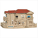 cheap 3D Puzzles-3D Puzzles Jigsaw Puzzle Square Famous buildings Chinese Architecture House DIY Christmas