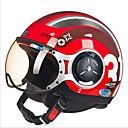 cheap Motorcyle Helmets-ZHUS motorcycle helmet MOMO modeling pedal half helmet retro Halley flying helmet 218C