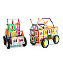 זול בלוקים מגנטיים-בלוק מגנטי מקלות מגנטיים אבני בניין Playsets רכב צעצועים מגנטי בנות יוניסקס צעצועים מתנות
