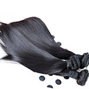 cheap Unprocessed Hair-Human Hair Remy Weaves Straight / Classic Malaysian Hair 500 g More Than One Year Daily