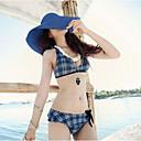abordables Pelucas para Disfraz-Mujer Sombrero de Paja Sombrero para el sol - Bonito Vacaciones Un Color