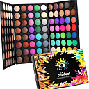 cheap Eyeshadows-120 Colors Eyeshadow Palette / Powders Eye Alcohol Free / Ammonia Free / Formaldehyde Free Waterproof Shimmer glitter gloss Coloured gloss Daily Makeup / Halloween Makeup / Party Makeup Makeup