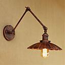 cheap Wall Sconces-Rustic / Lodge / Country / Retro Swing Arm Lights Metal Wall Light 110-120V / 220-240V 40W