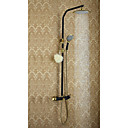 cheap Shower Faucets-Shower Faucet - Antique Ti-PVD Shower System Ceramic Valve