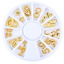 abordables Pinceles para Uñas-1 pcs Joyas de Uñas arte de uñas Manicura pedicura Diario Glitters / Moda / Joyería de uñas