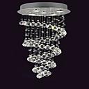 cheap Chandeliers-5-Light Flush Mount Ambient Light - Crystal, 110-120V / 220-240V Bulb Included / GU10 / 10-15㎡