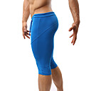 cheap Running Shirts, Pants & Shorts-Men's Running Shorts - Black, Green, Blue Sports Shorts / 3/4 Tights / Swimwear Fitness, Gym, Workout Activewear Quick Dry, Moisture Permeability, High Breathability (>15,001g) High Elasticity