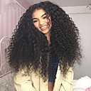 cheap Human Hair Wigs-Remy Human Hair Full Lace Wig Kinky Curly 130% 150% 180% Density 100% Hand Tied African American Wig Natural Hairline Short Medium Long