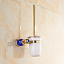 cheap Toilet Brush Holder-Toilet Brush Holder Contemporary Brass 1 pc - Hotel bath