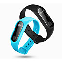 cheap Smart Activity Trackers & Wristbands-Couple's Casual Watch Sport Watch Fashion Watch Digital Black / Blue / Red 30 m Water Resistant / Water Proof Heart Rate Monitor Touch Screen Digital Charm Luxury Casual Bangle Elegant - Red Green