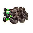 رخيصةأون شعر انسان-شعر مستعار طبيعي موجات الشعر الطبيعي هيئة الموج شعر هندي 400 g سنة