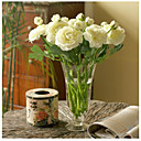 cheap Holiday Party Decorations-Artificial Flowers 10 Branch European Style Peonies Tabletop Flower