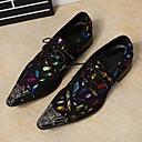 baratos Oxfords Masculinos-Homens Couro Primavera / Outono Conforto / Inovador / Sapatos formais Oxfords Caminhada Azul / Casamento / Festas & Noite