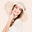 cheap Party Headpieces-Silk Hats with 1 Wedding / Special Occasion / Casual Headpiece