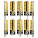 preiswerte LED Glühbirnen-10 Stück 3W 250-300lm G4 LED Doppel-Pin Leuchten T 72 LED-Perlen SMD 5730 Dekorativ Warmes Weiß / Kühles Weiß 12V / 110-130V
