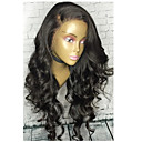 cheap Synthetic Capless Wigs-loose wave 360 lace wigs with baby hair brazilian virgin human hair 180 density 360 lace frontal wigs for black women natural color 8 22 hair wig