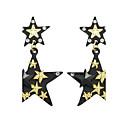 abordables Adhesivos de Pared-Mujer Pendientes colgantes - Estrella Básico Oro / Negro Para Casual