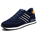 cheap Men's Athletic Shoes-Men's PU(Polyurethane) Spring / Fall Comfort Athletic Shoes Running Shoes Gray / Blue
