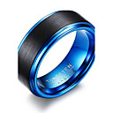 cheap Men's Rings-Men's Ring - Personalized, Basic, Simple Style 7 / 8 / 9 / 10 / 11 Blue / Assorted Color For Party Anniversary Birthday