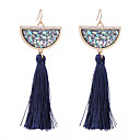 cheap Earrings-Women's Tassel / Long Earrings - Shell Friends Unique Design, Cute Red / Blue For Wedding / Party / Anniversary