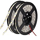 cheap LED Strip Lights-10m Flexible LED Light Strips 600 LEDs 5050 SMD Warm White / White / Red Cuttable / Linkable / Suitable for Vehicles 12 V / Self-adhesive / IP44