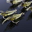 hesapli Balık Yemi ve Sineği-10 adet Yumuşak Yem Przynęty wędkarskie Balıkçı Kancaları Karides Jerkbaits Yumuşak Yem Yumuşak Plastik Silikon Deniz Balıkçılığı Fly
