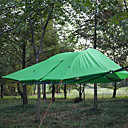 cheap Tents, Canopies & Shelters-3 - 4 person  Outdoor Tent Camping Shelter Windproof Waterproof Ultraviolet Resistant Breathability Foldable One Room Double Layered 2000-3000 mm Camping Tent  for Hiking Camping Outdoor Fiberglass