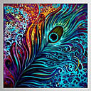 cheap Wall Stickers-Print Rolled Canvas Prints - Abstract Classic / Modern