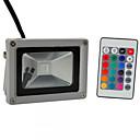 ieftine Lumini de Podea-HKV 10W Proiectoare LED Ajustabil Ușor de Instalat Rezistent la apă Lumina Exterior Garaj/Parcare Depozit/Debara RGB AC 85-265V