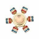 baratos Spinners de mão-Hand spinne Spinners de mão / Mão Spinner Alta Velocidade / Por matar o tempo / O stress e ansiedade alívio Metalic Clássico 1 pcs Peças