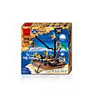 זול Building Blocks-ENLIGHTEN אבני בניין ערכות לבניית מודלים 1 pcs ספינה שודדי ים בנים בנות צעצועים מתנות