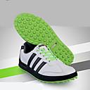 baratos Sapatos para Golf-Homens Sapatos Casuais / Sapatos para Golf Borracha Esportes Relaxantes Anti-Escorregar, Anti-Shake, Almofadado Branco / Preto / Khaki