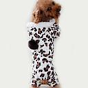 preiswerte Halsbänder, Geschirre und Leinen für Hunde-Katze Hund Overall Pyjamas Hundekleidung Leopard Braun Polar-Fleece Kostüm Für Haustiere Herrn Damen Niedlich Lässig/Alltäglich