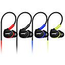 baratos Fones de Ouvido-No ouvido / Banda de pescoço Com Fio Fones Plástico Condução Fone de ouvido Mini / Com Microfone Fone de ouvido