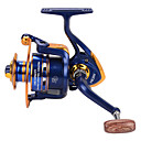 cheap Fishing Reels-Fishing Reel Spinning Reel 5.21 Gear Ratio+12 Ball Bearings Hand Orientation Exchangable Bait Casting Ice Fishing Spinning Freshwater