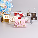 cheap Nail Stickers-Creative Card Paper Favor Holder with Bowknot Ribbons Favor Boxes Gift Boxes - 25