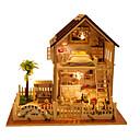 tanie Lalki-Domek dla lalek Dom Drewniany Sztuk Dla obu płci Prezent