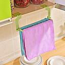 billige Køkkenopbevaring-1 stk. Sømløs pasta perforering gratis håndklædestativ hængende håndklæde køkken toilet håndklædestativ tilfældig farve