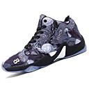abordables Zapatillas de Deportiva de Hombre-Hombre PU Primavera / Otoño Confort Zapatillas de Atletismo Baloncesto Negro / Amarillo / Rojo