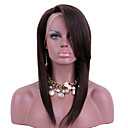 cheap Human Hair Wigs-Remy Human Hair Full Lace Wig Straight Wig 130% Hair Density Natural Hairline African American Wig 100% Hand Tied Women's Short Medium Length Long Human Hair Lace Wig
