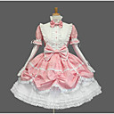 cheap Lolita Dresses-Sweet Lolita Dress Princess Women's Girls' Dress Cosplay Cap Short Sleeves Short / Mini