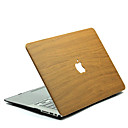 preiswerte MacBook Accessoires-MacBook Herbst Holzmaserung Polycarbonat für MacBook 12'' / MacBook 13'' / MacBook Air 11''