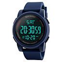 baratos Smartwatches-Relógio inteligente YYSKMEI1257 para Suspensão Longa / Impermeável / Multifunções / Esportivo Cronómetro / Relogio Despertador / Cronógrafo / Calendário / Dois Fusos Horários