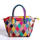 olcso Zsák táskák-Női Táskák Bőr Kéztáska Cipzár Szivárvány