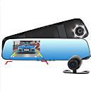baratos Câmeras de Ré para Carros-d990 1080p / Full HD 1920 x 1080 DVR de carro 170 Graus Ângulo amplo 4.3inch Dash Cam com Alto Falante Embutido / Microfone Embutido /